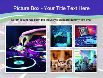 Stereo Music Mixer PowerPoint Template - Slide 19