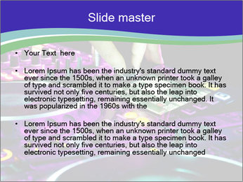 Stereo Music Mixer PowerPoint Template - Slide 2