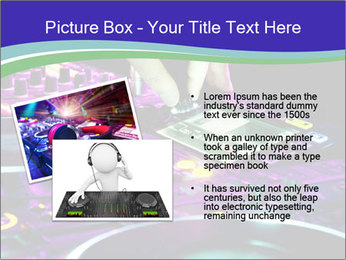 Stereo Music Mixer PowerPoint Template - Slide 20