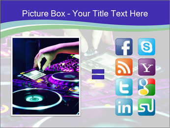 Stereo Music Mixer PowerPoint Template - Slide 21