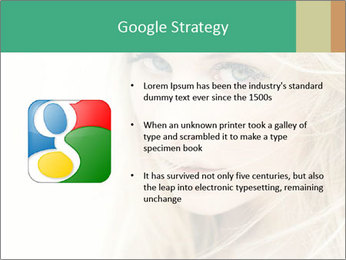Blond Beauty PowerPoint Template - Slide 10