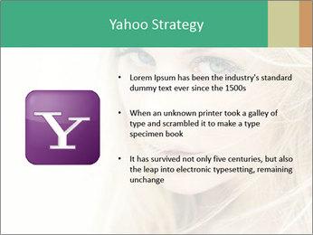 Blond Beauty PowerPoint Template - Slide 11