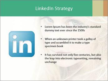Blond Beauty PowerPoint Template - Slide 12