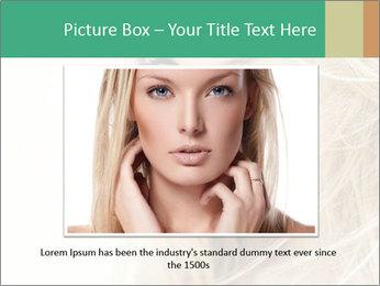 Blond Beauty PowerPoint Template - Slide 16