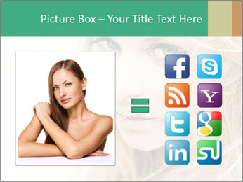 Blond Beauty PowerPoint Template - Slide 21