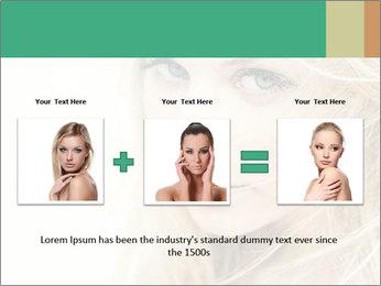 Blond Beauty PowerPoint Template - Slide 22