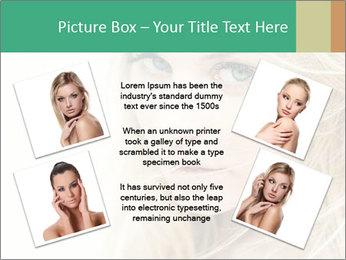 Blond Beauty PowerPoint Template - Slide 24