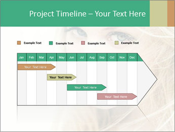 Blond Beauty PowerPoint Template - Slide 25