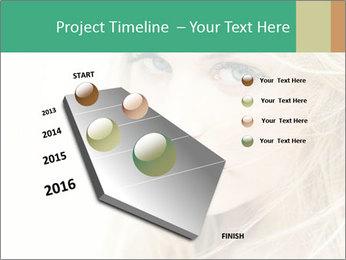 Blond Beauty PowerPoint Template - Slide 26