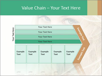 Blond Beauty PowerPoint Template - Slide 27