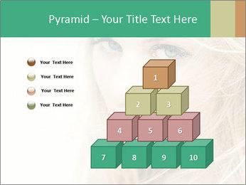 Blond Beauty PowerPoint Template - Slide 31