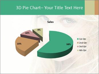 Blond Beauty PowerPoint Template - Slide 35