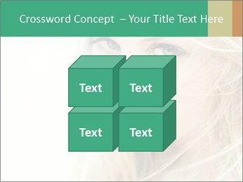 Blond Beauty PowerPoint Template - Slide 39