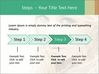 Blond Beauty PowerPoint Template - Slide 4