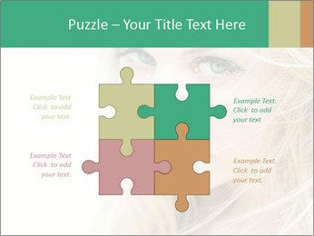 Blond Beauty PowerPoint Template - Slide 43