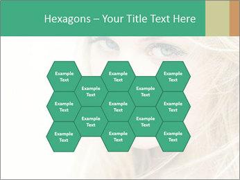 Blond Beauty PowerPoint Template - Slide 44