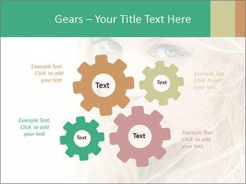 Blond Beauty PowerPoint Template - Slide 47