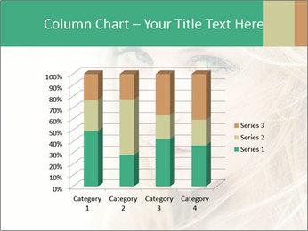 Blond Beauty PowerPoint Template - Slide 50