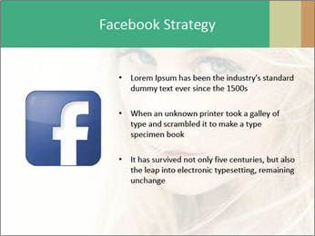 Blond Beauty PowerPoint Template - Slide 6