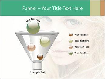 Blond Beauty PowerPoint Template - Slide 63