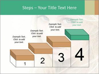 Blond Beauty PowerPoint Template - Slide 64