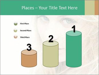 Blond Beauty PowerPoint Template - Slide 65