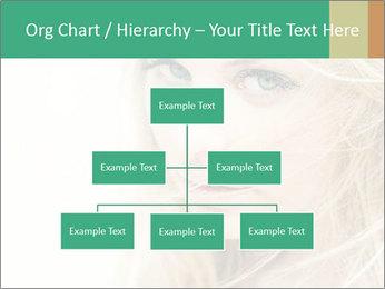 Blond Beauty PowerPoint Template - Slide 66