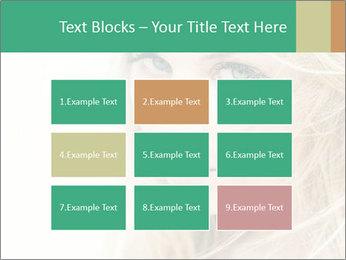Blond Beauty PowerPoint Template - Slide 68