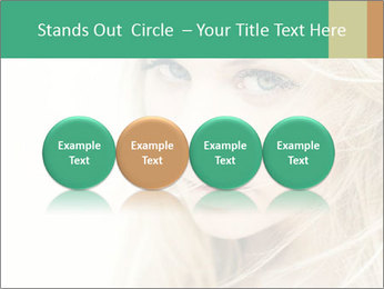 Blond Beauty PowerPoint Template - Slide 76