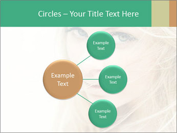 Blond Beauty PowerPoint Template - Slide 79