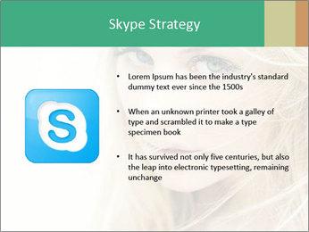 Blond Beauty PowerPoint Template - Slide 8