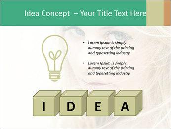 Blond Beauty PowerPoint Template - Slide 80