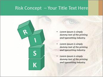 Blond Beauty PowerPoint Template - Slide 81