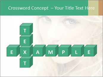 Blond Beauty PowerPoint Template - Slide 82