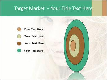 Blond Beauty PowerPoint Template - Slide 84