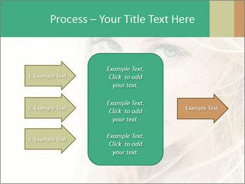 Blond Beauty PowerPoint Template - Slide 85