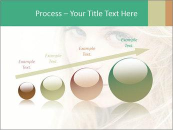 Blond Beauty PowerPoint Template - Slide 87