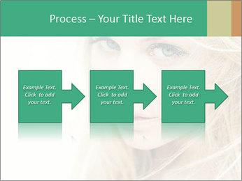 Blond Beauty PowerPoint Template - Slide 88