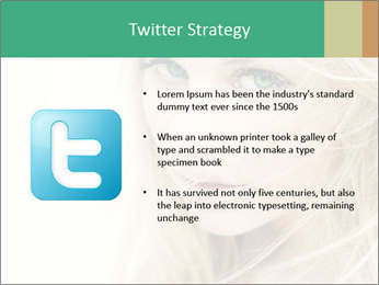 Blond Beauty PowerPoint Template - Slide 9