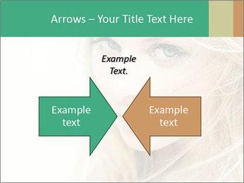 Blond Beauty PowerPoint Template - Slide 90