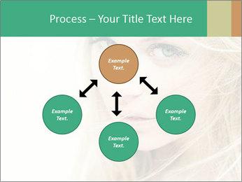 Blond Beauty PowerPoint Template - Slide 91