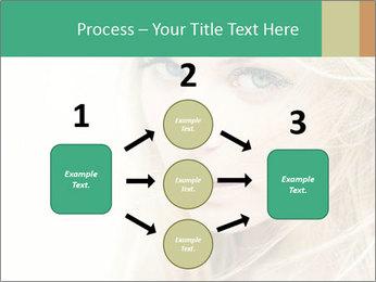 Blond Beauty PowerPoint Template - Slide 92