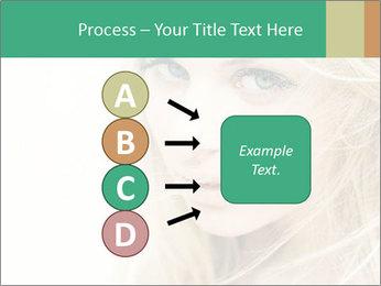 Blond Beauty PowerPoint Template - Slide 94