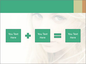 Blond Beauty PowerPoint Template - Slide 95