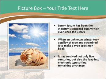 Corsica Beach PowerPoint Templates - Slide 13