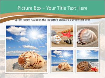 Corsica Beach PowerPoint Templates - Slide 19