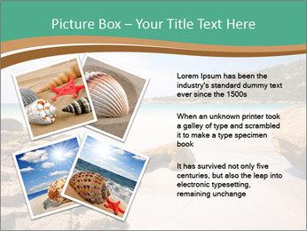 Corsica Beach PowerPoint Templates - Slide 23