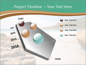 Corsica Beach PowerPoint Templates - Slide 26