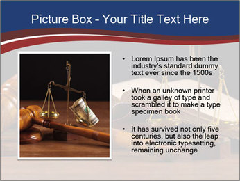 Court Fairness PowerPoint Template - Slide 13