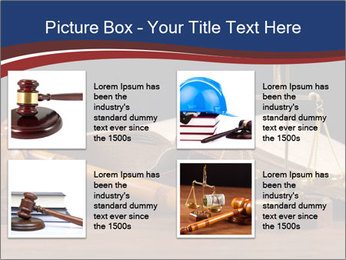 Court Fairness PowerPoint Template - Slide 14